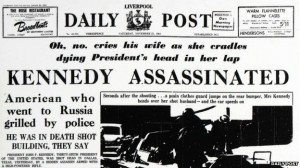 How the Liverpool Daily Post reported the assassination of John F. Kennedy © Trinity Mirror