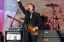 Sir Paul McCartney's return to Liverpool sold out in lightning-quick time after fans queued overnight outside the Echo Arena for tickets.