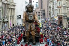The Royal de Luxe giants will return to Liverpool this summer to commemorate the centenary of World War I.