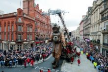The Giant Spectacular, which wowed Liverpudlians last year, could be set for a return in 2014.