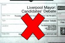 A controversial debate set to feature all of the candidates to be Liverpool's mayor has been scrapped over public safety fears.
