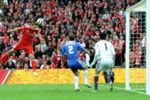 Liverpool's hopes of winning a second cup this season and salvaging a poor campaign were shattered by a 2-1 defeat to Chelsea in the FA Cup final.