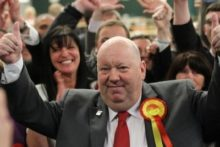 Labour's Joe Anderson has been named Liverpool Mayor after winning the city's first ever directly-elected mayoral vote.