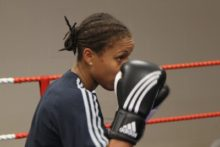 After one round in the ring with Olympic hopeful Natasha Jonas, Anna was left inspired, impressed, and severely out of breath.