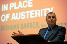 """TUC leader Brendan Barber has said it would be a """"disaster for the country"""" if students are priced out of university by high tuition fees."""