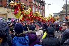 The Year of the Dragon was welcomed into Liverpool at the weekend as a 70ft dragon worked its way through Chinatown to mark the New Year.