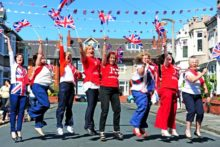 Street parties brought people together as Merseyside marked 60 years on the throne for Queen Elizabeth II on her Diamond Jubilee.