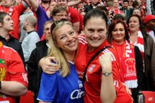 Wembley pubs are set to be split for Liverpool and Everton FC fans ahead of next weekend's FA Cup semi-final, keeping rival supporters and some families apart.