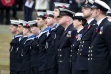 Vegard Grott presents a selection of images from the 2011 Remembrance Sunday service in Liverpool.