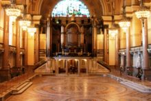 Visitors to St George's Hall have been handed a rare chance to see the stunning Minton tile floor until 22nd January.