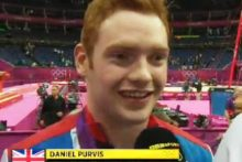Crosby's Daniel Purvis helped Team GB to win their first gymnastics Olympic medal in a century as they took bronze at London 2012.