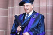 Lord Justice Leveson was awarded an Honorary Fellowship by Liverpool John Moores University during Wednesday's graduation ceremony.