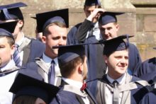 We spoke to students after their graduation ceremony to hear their thoughts on the day and three years at university.