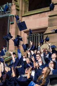 Class of 2012 celebrates graduation © LJMU