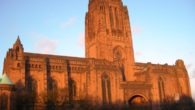 Liverpool Anglican Cathedral's head guide has published a new book describing events in the history of the building.