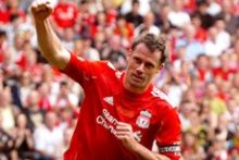 Jamie Carragher and other Liverpool legends will play in a charity football match – and you can take part.