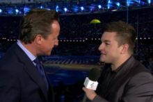 JMU Journalism graduate Alex Brooker interviewed PM David Cameron and London Mayor Boris Johnson live at the Paralympics.