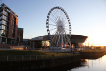 The Wheel of Liverpool is back in business and turning again just weeks after its parent company went into administration.