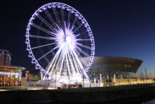 Uncertainty surrounds the future of the Wheel of Liverpool, which stopped turning after the owners went into administration.