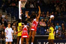 England were beaten by Jamaica in an enthralling game as international netball returned to the Echo Arena.