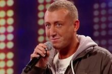 Christopher Maloney was so nervous he could hardly hold his microphone but he stole the show at the Liverpool X Factor auditions.