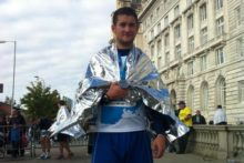 A Wirral man will run three marathons in three days to raise funds after the death of PC David Phillips.