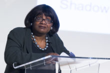 The first black woman ever elected to parliament, Diane Abbott, joined LJMU's celebration of Black History Month.