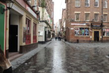 Members of the public have reacted angrily after children as young as three were sent out begging on Mathew Street.