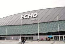 Officials are celebrating the 10th anniversary of the opening of the Echo Arena and ACC Liverpool.
