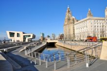 Liverpool's waterfront and Aigburth have been named in The Sunday Times top 50 list of best urban places to live in Britain.