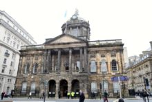 Ladbrokes has been refused plans to open a betting shop opposite Liverpool Town Hall.