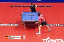 The people of Liverpool had the chance to watch the world's top table tennis players in action at the Echo Arena.