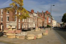 Liverpool's Hope Street has been shortlisted as one of the top urban areas in England.