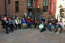Traditional Irish music brought life into the city as Liverpool Irish Festival celebrated its 10th anniversary