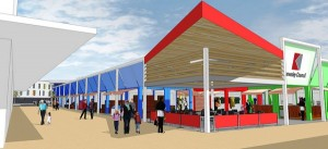 Kirkby regeneration artist's impression. Copyright: Knowsley MBC