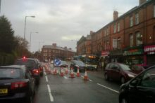 Smithdown Road roadworks have finished two weeks ahead of schedule after a major revamp.