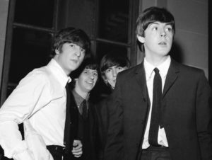 The Beatles in Liverpool in 1964 © Trinity Mirror