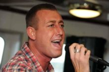 X Factor wildcard hopeful Christopher Maloney returned to Liverpool this week to drum up more support from his home town.
