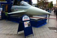 Liverpool youngsters were encouraged to consider career in the RAF with information events held in the city this week.