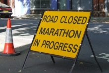 Many roads will be shut as thousands of runners take part in the 2012 Liverpool Marathon.