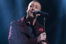 Christopher Maloney has survived the public vote on X Factor but the strain is telling on the Liverpool singer.