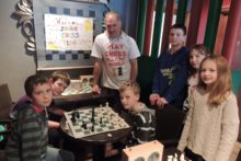 Wirral Junior Chess teams gathered in Heswall to raise money for Children in Need.