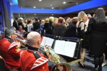 'A Night of Remembrance, A Night to Remember' raised thousands of pounds for injured soldiers.