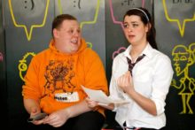A local theatre company is touring schools in association with National Anti-Bullying Week to tackle online abuse.