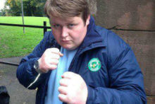 A local comedian is hoping he can have the last laugh when he takes on Liverpool boxer Derry Mathews in a charity boxing fight.