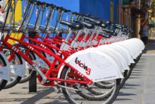 Liverpool may have the biggest cycle hire scheme in the country outside of London from next summer.