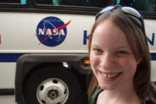 A student is appealing to the people of Liverpool to help make her dreams come true - by sending her into space.