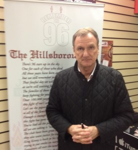 Liverpool legend Phil Thompson was there to back the cause