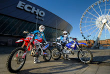 A nine-year-old boy from Ormskirk is set to be the star of the show as motocross returns to the Echo Arena.