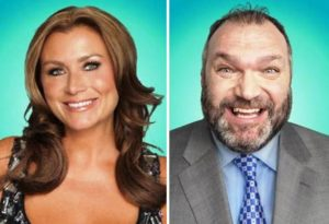 Tricia Penrose and Neil Ruddock star on this year's Celebrity Big Brother © Channel 5